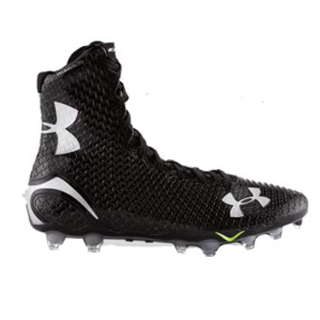 Under Armour Highlight MC Lacrosse Cleats - Black/Black