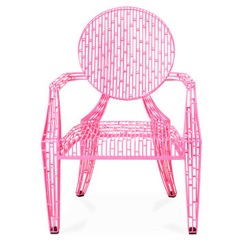 Urban Louie Chair, Pink, Accent & Occasional Chairs