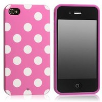 Generic MC0112 Cell Phone Case for iPhone 4 & 4s - Non-Retail Packaging - Pink
