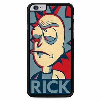 Rick And Morty In The Style Of Shepard Rick iPhone 6 Plus / 6s Plus Case