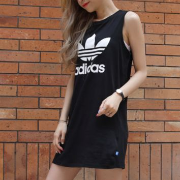 Adidas Women Sleeveless Simple Dress
