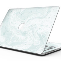 Mixtured Teal v3 Textured Marble - MacBook Pro with Retina Display Full-Coverage Skin Kit