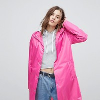Noisy May Rain Coat at asos.com