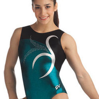 Jeweled Swirl Tank Leotard from GK Elite