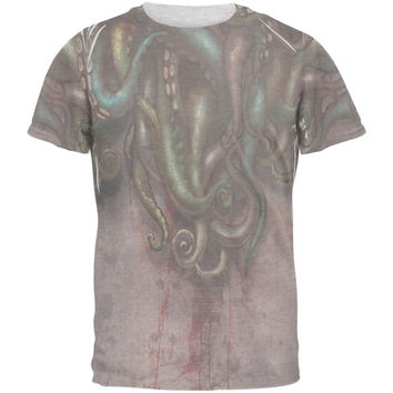 Cthulhu Greater God Tentacles Costume Mens T Shirt