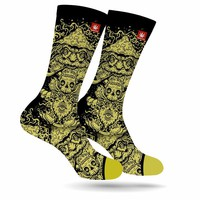 THE GOLDEN TEACHER WEED MARIJUANA STONER SOCKS
