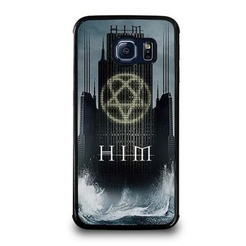 HIM BAND HEARTAGRAM Samsung Galaxy S6 Edge Case Cover
