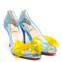 CHRISTIAN LOUBOUTIN | PVC Tip Pumps | Browns fashion & designer clothes & clothing