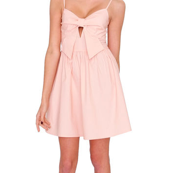 Pretty Bow Dress - Pink