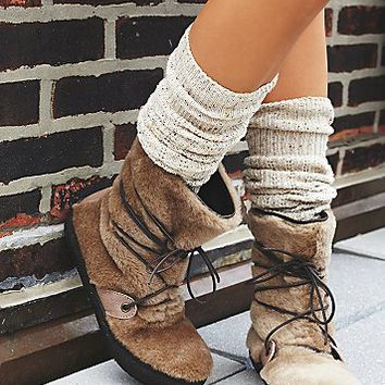 Free People Womens Fairbanks Wrap Weather Boots