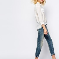 Supertrash Player Boyfriend Jeans with Distressed Detail at asos.com