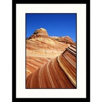 Great American Picture Paria Canyon Vermillion Cliffs, Layered Sandstone, Utah Framed Photograph - D