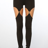 The Cutout Garter Ponti Legging