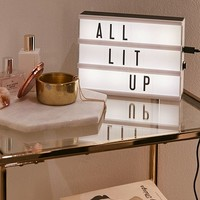 Multicolor Mini Cinema Light Box | Urban Outfitters