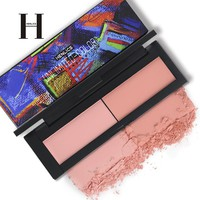 HENLICS Beauty Product Series Wonderful 2 Color Makeup Blush Face unlimited color fairy Blusher Powder Palette Cosmetic