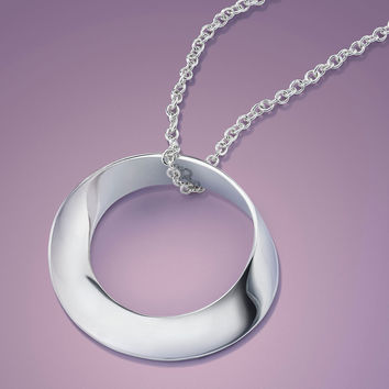 Pure Mobius Sterling Silver