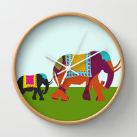 Streets of India Wall Clock by Simi Design