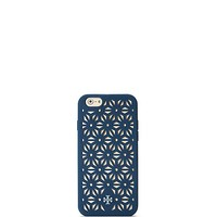 Tory Burch Floral Perforated Silicone Case For Iphone 6