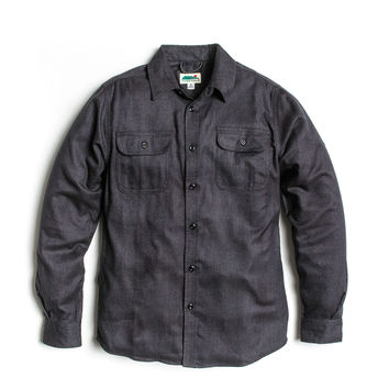 Better Black Flannel - Heather Black