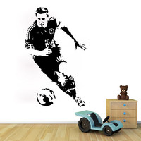 Caved World Playe Lionel Messi Wall Decal