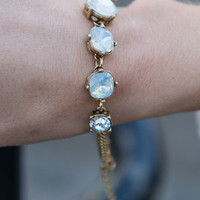 Full Of Love Bracelet, Opal