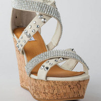 CAN'T GET ENOUGH EMBELLISHED WEDGE