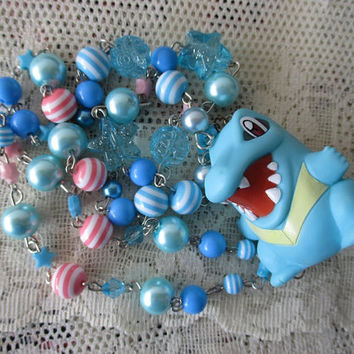 Pokémon Necklace - TOTODILE- Bandai Figure Necklace - Gamer Gear