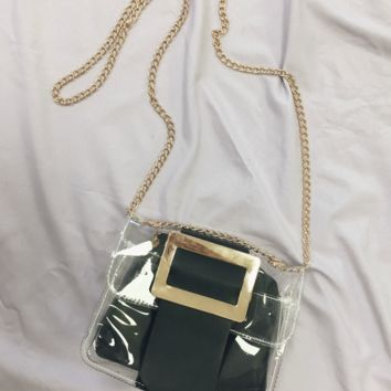 Lifetime Black & Clear Bag