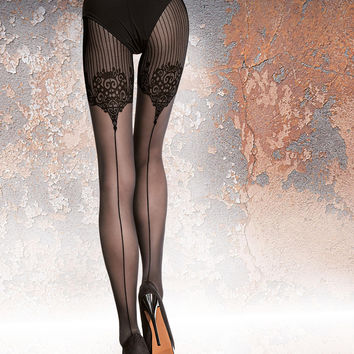 TIGHTS JO- Black - FREE SHIPPING