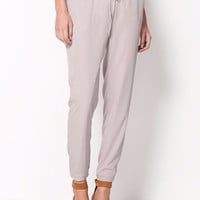 Business Casual Harem Pants - Grey