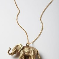 Brass Cirque Necklace - Anthropologie.com
