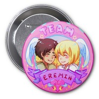 """Team Eremin Badge"" Attack on Titan Button"