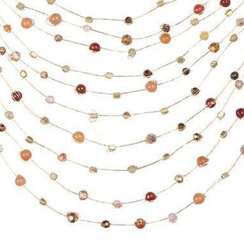 Akha Necklace - Red