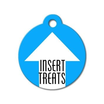 Insert Treats - Funny Pet Tags