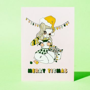 Titmas Greeting Card