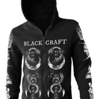 The Craft - Zip Up Hoodie | Black Craft