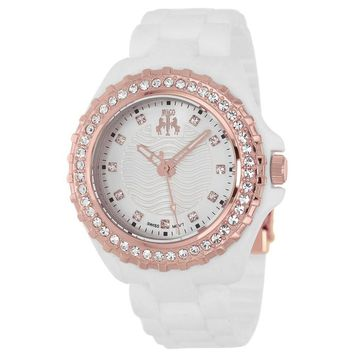 White Quartz Watch
