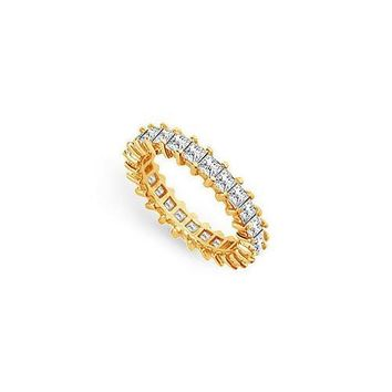 Diamond Eternity Band : 18K Yellow Gold  3.00 CT Diamonds