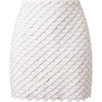 STELLA MCCARTNEY Scalloped Mini-Skirt