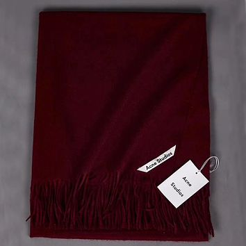 Perfect Acne Studios Women Wool Scarf Shawl Scar