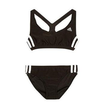 MDIGNQ2 Adidas Fashion Sport Tank Top Bra Panty Shorts Underwear Set Bikini Swimwear Swimsuit