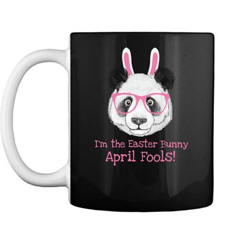 Easter Panda Funny April Fools Easter Bunny Tee Shirt Mug
