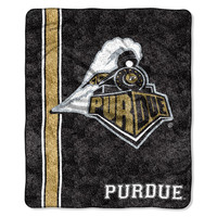 Purdue Boilermakers NCAA Sherpa Throw (Jersey Series) (50in x 60in)