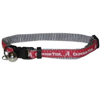 Alabama Crimson Tide Breakaway Cat Collar