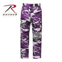 Rothco 7925 Color Camo BDU Pant - Ultra Violet Camo | Mens and Womens Workwear at G&L Clothing