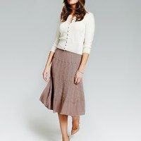 Knitted Skirt | Pure Clothing | Pure Collection USA