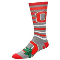 For Bare Feet College Multi-Stripe Logo Sock - Men's at Foot Locker