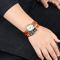 Fashion Punk  Adjustable Leather Wristband Cuff Bracelet  - Great for Men, Women, Teens, Boys, Girls 2745s