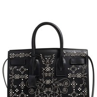Saint Laurent 'Small Sac de Jour' Studded Calfskin Leather Satchel | Nordstrom