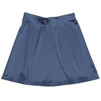 Internet Girl Software Mini Skirt - Blue